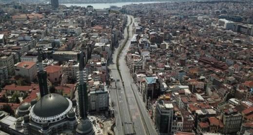 .jpg - السبت،حظر التجوال أربعة أيام في 15 ولاية تركية، ضمن إجراءات مكافحة فيروس كورونا.