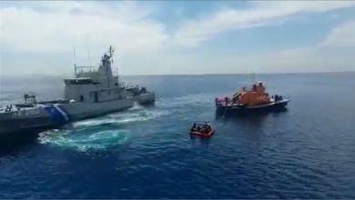 صورة تركيا.. إنقاذ طالبي لجوء عرضتهم اليونان للغرق في البحر
