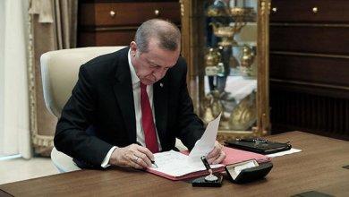 صورة الرئيس أردوغان يوقع قراراً تنفيذياً .. تفاصيل القرار