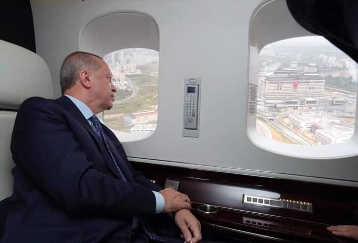 "FB IMG 1590060606827 - الرئيس التركي رجب طيب اردوغان يقوم بجولة تفقدية في مدينة ""ساكورا"" الطبية"