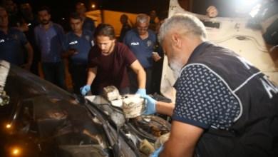 صورة شاب سوري يدعس شرطيا تركيا بسيارته محملة بالمخدرات