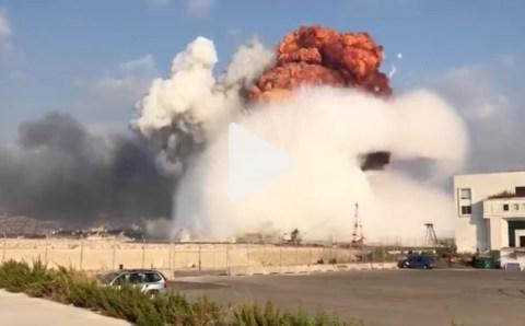 لبنان: إنفجار وسط بيروت وإصابات لا تحصى