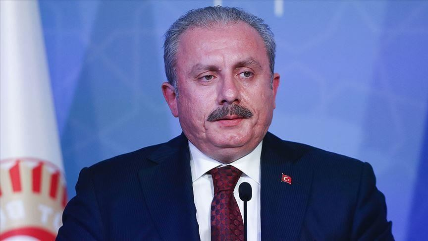 رئيس البرلمان التركي:بتصريح ناري ضد الإمارات خانت القضية الفلسطينية