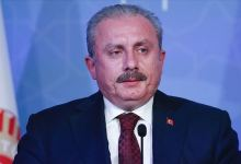 Photo of رئيس البرلمان التركي:بتصريح ناري ضد الإمارات خانت القضية الفلسطينية