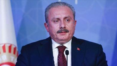 صورة رئيس البرلمان التركي:بتصريح ناري ضد الإمارات خانت القضية الفلسطينية