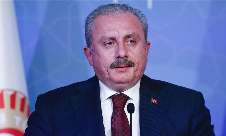 شنطوب - رئيس البرلمان التركي:بتصريح ناري ضد الإمارات خانت القضية الفلسطينية