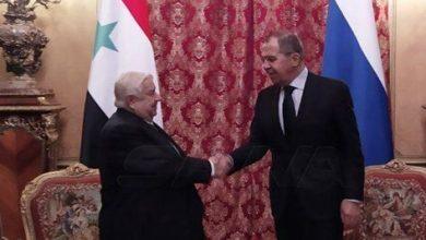 صورة لافروف …الملف السوري أكثر ما يشغل بال موسكو
