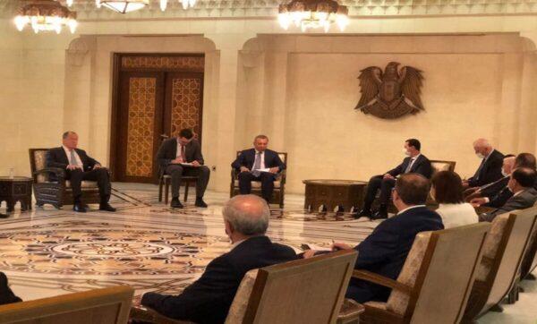 زيارة روسيا الأخيرة لنظام الأسد - وكالات