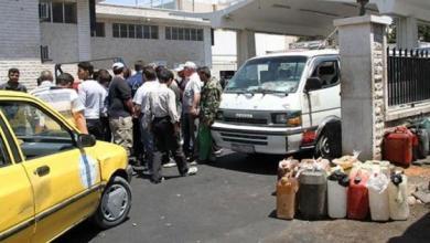 صورة أزمة وقود خانقة في اللاذقية.. وطوابير مرعبة تنتظر دورها