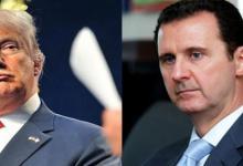 """صورة """"ترامب"""" يُجيب على سؤال محير: هل ندم على عدم اغتيال بشار الأسد؟"""