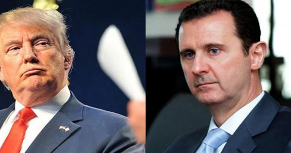 """159283147110050900 - """"ترامب"""" يُجيب على سؤال محير: هل ندم على عدم اغتيال بشار الأسد؟"""