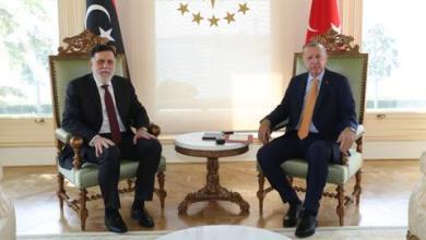 صورة إسطنبول.. أردوغان والسراج يبحثان الأوضاع في ليبيا وآفاق التعاون بين البلدين