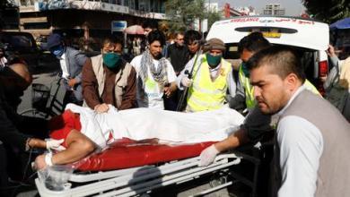 صورة نجاة نائب رئيس أفغانستان من تفجير في كابول