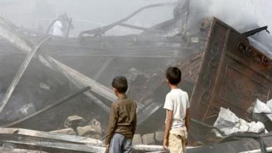 صورة توجد أدلة على جرائم حرب سعودية وإماراتية باليمن