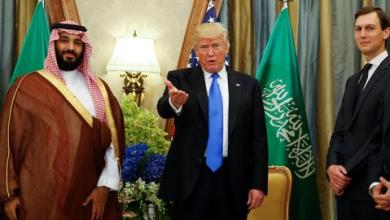 """صورة ترمب تباهى بـ""""إنقاذه"""" ولي العهد السعودي في قضية خاشقجي"""