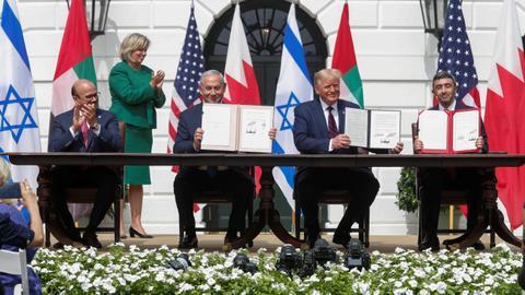 1600205980 8856382 5386 3033 27 134 - فتش عن الاقتصاد والانتخابات.. كيف يستخدم ترمب اتفاقيات التطبيع مع إسرائيل؟