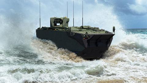 """1600346139 8873095 854 481 4 2 - مركبة """"ZAHA"""" البرمائية الهجومية التركية تتجاوز اختباراً جديداً"""
