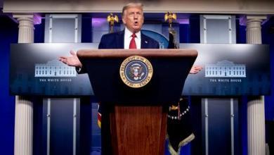 صورة ترمب يعتزم إصدار أمر تنفيذي يعاقب منتهكي حظر الأسلحة على إيران