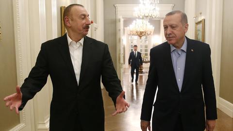 1600586370 8904174 855 481 1 116 - مناورات أذربيجان العسكرية مع تركيا تخيف أرمينيا