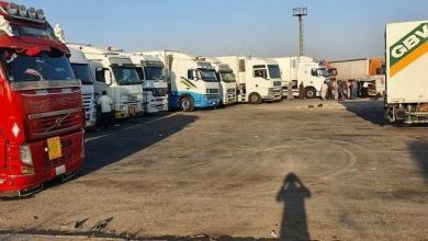 صورة الأردن تستمر بإغلاق حدودها مع سوريا.. ومئات الشاحنات عالقة