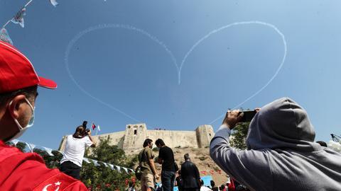 """""""تكنوفيست"""".. انطلاق مهرجان تكنولوجيا الطيران والفضاء بغازي عنتاب التركية"""