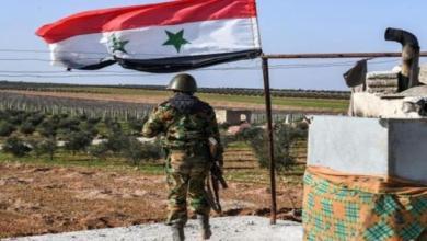 صورة مجموعة من قوات الأسد تلقى حتفها بانفجار لغم شرقي حماة