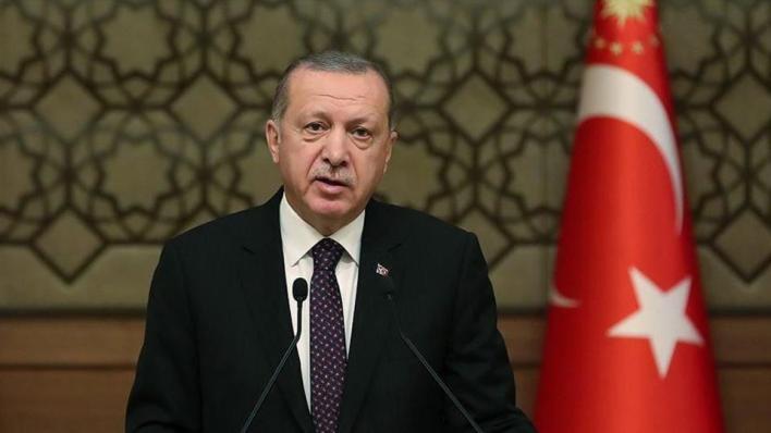 الرئيس التركي رجب طيب أردوغان قدم تعازيه للشعب الكويتي في وفاة أميره الشيخ صباح الأحمد