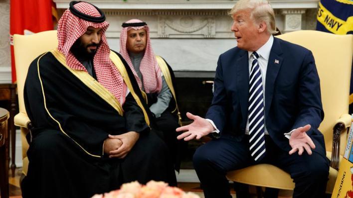ترمب يقول إنلديه إحساساً أن السعودية تريد التطبيع مع إسرائيل بناء على محادثات أجراها مع القادة فى السعودية