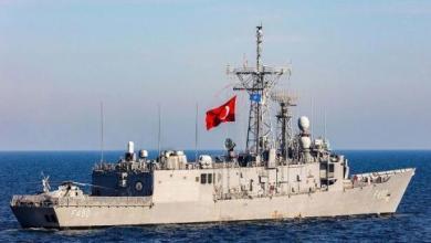 صورة تحرك عسكري تركي مفاجئ قبالة سواحل ليبيا ردًّا على تصعيد الجامعة العربية