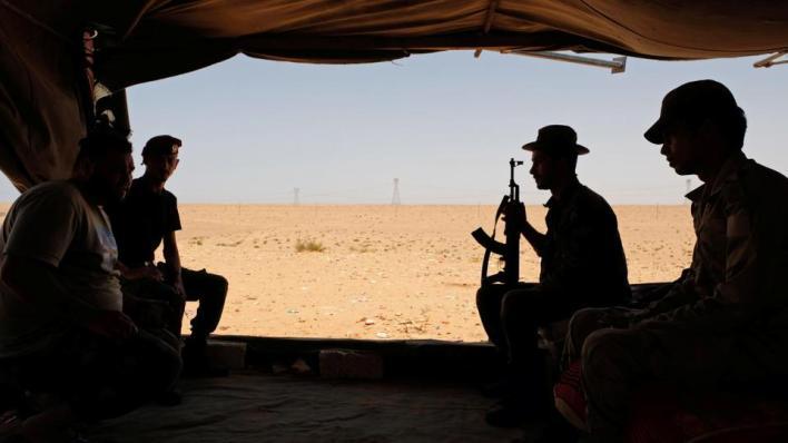 8769705 4163 2344 42 351 - الجيش الليبي يرصد تحركاً عسكرياً لمليشيا حفتر باتجاه البريقة