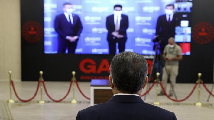 كلوغه وقوجه يشاركان في حفل افتتاح مكتب إقليمي لمنظمة الصحة العالمية في إسطنبول عبر تقنية الفيديو كونفرنس
