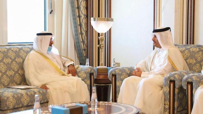 """8905901 1013 571 8 130 - هل تنتهي الأزمة الخليجية قريباً؟.. أمين عام """"التعاون الخليجي"""" يزور الدوحة"""