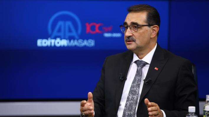 وزير الطاقة والموارد الطبيعية التركي فاتح دونماز، بأن بلاده استخرجت 47 ألف برميل نفط يومياً على مدار عام 2019