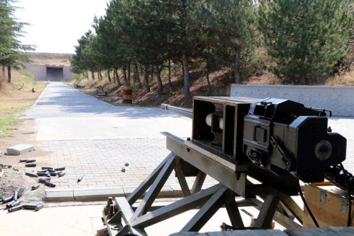 المدفع المحلي قادر على إطلاق النار بشكل فعال على العديد من الأهداف المختلفة