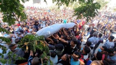 صورة عندما تكون لقمة عيش صيادي غزة مغمسة بالدم