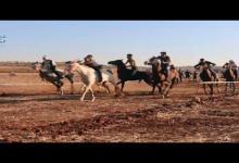 صورة أول سباق فروسية على أرض إدلب لنادي الزعيم الرياضي