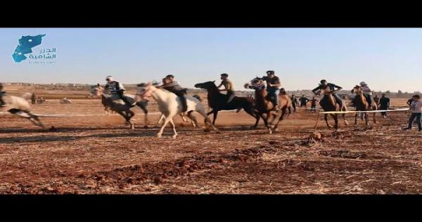 A2eu0O4zUy0 - أول سباق فروسية على أرض إدلب لنادي الزعيم الرياضي