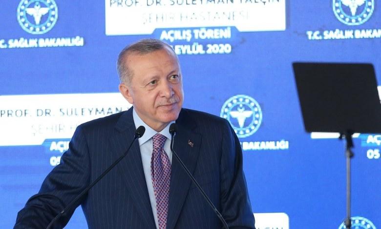 EhKLKSBXkAUsubl - أردوغان يفتتح مدينة طبية جديدة في إسطنبول (صور) تركيا الحدث