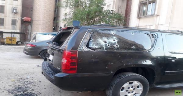 bgdd - سقوط صاروخ كاتيوشا قرب من السفارة الأمريكية وسط بغداد