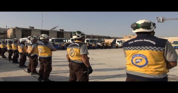 """jdb0ide69 Y - """"أمل العائدين"""" ...حملة خدمية يقوم بها الدفاع المدني في مدينة أريحا جنوب إدلب"""