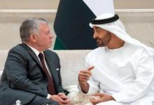 صورة بعد هجوم الأمير علي.. محمد بن زايد يهدد ملك الأردن بهذا الأمر