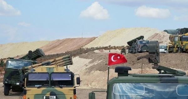 nqt lmrqb ltrky - نظام الأسد يحشد مواليه للتظاهر أمام النقاط التركية شرقي إدلب