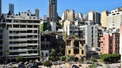 """صورة الإغاثة التركية """"İHH"""" تباشر إنقاذ ضحايا انفجار بيروت"""
