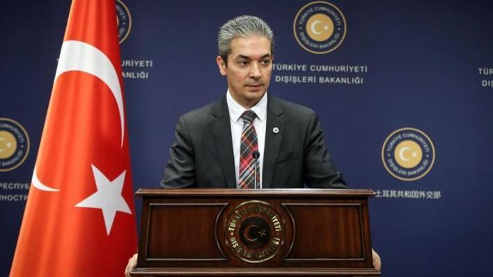 المتحدث باسم الخارجية التركية حامي أقصوي يقول إن اليونان تتجاهل دعوات أنقرة للتعاون