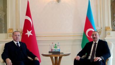 صورة علييف يشكر تركيا وأردوغان على دعم أذربيجان ويعلن تحرير قرى جديدة في قره باغ