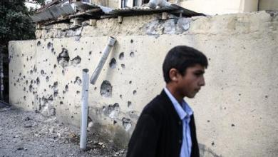 صورة بعد إعلان الهدنة.. دمار مدينة ترتر الأذربيجانية يصدم ساكنيها