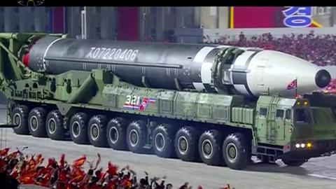 1602348874 9187141 1890 1064 11 135 - كوريا الشمالية تكشف عن صاروخ باليستي جديد عابر للقارات خلال عرض عسكري