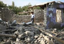 صورة مقتل 90 مدنياً في أذربيجان منذ بدء الحرب وإسقاط طائرتين حربيتين لأرمينيا