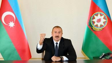 صورة رداً على اعتداءات أرمينيا.. الرئيس الأذربيجاني يعلن تحرير كامل مدينة فضولي