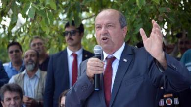 """صورة """"أرسين تتار"""" رئيساً لجمهورية شمال قبرص التركية"""